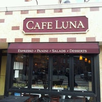 Photo taken at Cafe Luna by Anthony H. on 10/24/2012