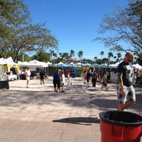 Photo taken at West Palm Beach Green Market by Bob S. on 11/17/2012