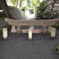 Photo taken at 黒神神社 埋没鳥居 by Yutaka K. on 12/15/2012