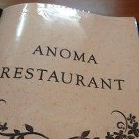 Das Foto wurde bei Anoma's Restaurant von Ingo T. am 12/29/2013 aufgenommen