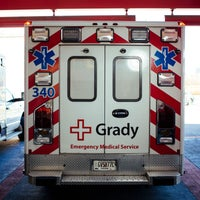 Photo taken at Grady Memorial Hospital by Grady Memorial Hospital on 7/13/2015