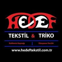 Photo taken at Hedef Tekstil Triko by Bilal C. on 3/5/2014