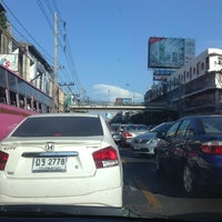 Photo taken at Ratchada-Lat Phrao Intersection by Gochie W. on 3/31/2013