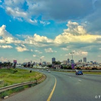Photo taken at Johannesburg by Tanvir A. on 1/12/2017