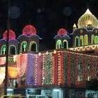 Photo taken at Gurudwara Gobinddham by Mihir B. on 11/17/2013