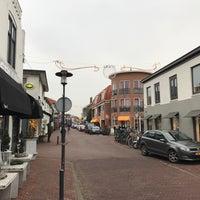 Photo taken at Winkelstraat Santpoort by Martijn K. on 12/17/2016