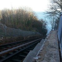 Photo taken at Babbacombe Cliff Railway by Paul (M0PCZ) C. on 12/17/2012