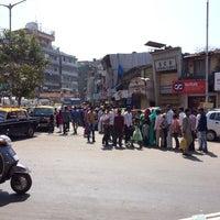 Photo taken at Bhendi Bazaar by Ali A. on 3/9/2014