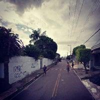 Photo taken at Rua Quarta by Railton N. on 1/2/2014