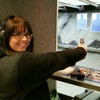 Photo taken at Ultimate Defense Firing Range & Training Center by Jennifer R. on 1/10/2016