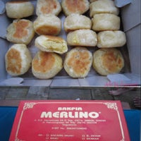 Photo taken at Merlino Bakery, Tart & Bakpia by Putri on 9/23/2012