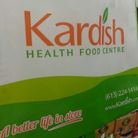 Photo taken at Kardish Health Food Centre by Dustin G. on 3/26/2013