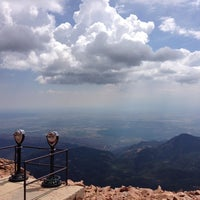 Photo taken at Pikes Peak by Chris J. on 7/10/2013