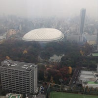 Photo taken at Sumitomo Fudosan Iidabashi First Tower by Takashi S. on 12/10/2013