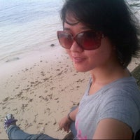Photo taken at Tanjung Setia Surf Beach by Prima R. on 12/8/2013
