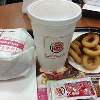 Photo taken at Burger King by Takashi A. on 3/8/2013