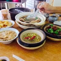 Photo taken at 云顶木清肉骨茶 by Christine L. on 1/26/2014