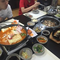Photo taken at Gangnam BBQ by Christine L. on 3/12/2016