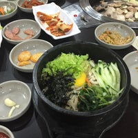 Photo taken at Gangnam BBQ by Christine L. on 3/23/2016