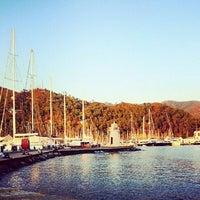 Photo taken at Marmaris marina by E. E. on 8/28/2014