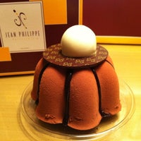 Photo taken at Jean Philippe Patisserie by Sun on 10/11/2012