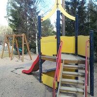 Photo taken at Riistapolun leikkipuisto by Raituli on 5/3/2013