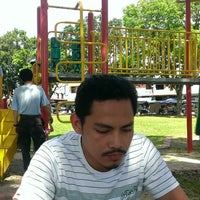 Photo taken at Sungai nibong playground by Cimon Kun Sun M. on 12/20/2013