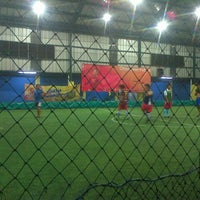 Photo taken at Champion Futsal Arena by Adhi B. on 3/10/2014