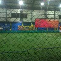 Photo taken at Champion Futsal Arena by Adhi B. on 3/3/2014