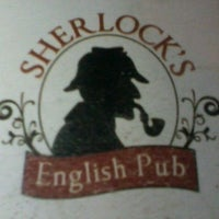 Photo taken at Sherlock's Pub by Luiza L. on 10/10/2012