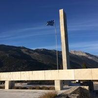 Photo taken at Μαυσωλείο Θυμάτων Ναζισμού by Adonis on 12/27/2015