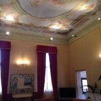 Photo taken at Ruzzini Palace by Ari G. on 7/11/2014