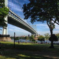 Photo taken at Astoria Park Parking Lot by Sumeet S. on 7/7/2013