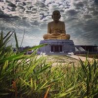 Photo taken at สมเด็จหลวงพ่อทวด องค์ใหญ่ที่สุดในโลก by Jomm on 11/22/2013