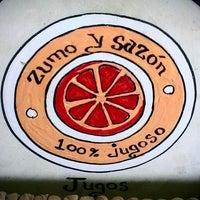 Photo taken at Zumo y Sazón by Octavio R. on 9/7/2013