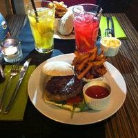 Photo taken at Ring Café & Burger Bar by Balazs K. on 1/7/2013