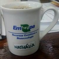 Photo taken at Embrapa Recursos Genéticos e Biotecnologia - CENARGEN by Nathália d. on 11/13/2014