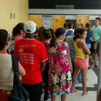 Photo taken at Banco do Brasil Agência Cruz by Doug M. on 8/12/2014