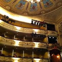 Photo taken at Svenska Teatern by Aino on 12/13/2012