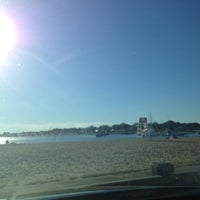 Photo taken at Clinton Beach by Rudy L. on 9/8/2013