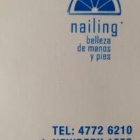 Foto tomada en Nailing Spa de Manos y Pies por Bianca T. el 7/3/2014