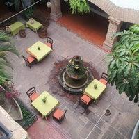 Photo taken at Hacienda Hotel & Spa by Nan T. on 2/22/2013