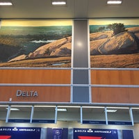 Photo taken at Delta Air Lines Ticket Counter by Clint C. on 11/17/2017