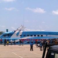 Photo taken at Pelabuhan Pangkalabalam by Subhan D. on 9/8/2013