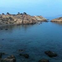 """Photo taken at Ασπρος Γκρεμος """"White Cliff"""" by Stella Fyrogeni Antiparioti P. on 10/12/2012"""