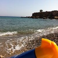 """Photo taken at Ασπρος Γκρεμος """"White Cliff"""" by Stella Fyrogeni Antiparioti P. on 9/15/2012"""