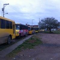 Photo taken at R 11 Terminal oficial de Transporte Urbano T&A by José Antonio R. on 1/1/2014