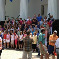 Photo taken at Gettysburg College - Pennsylvania Hall by Janelle D. on 6/1/2013
