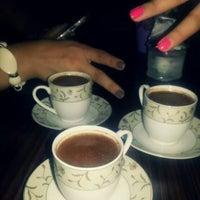 Photo taken at Kapris Tarot Cafe by Ebru B. on 9/14/2013
