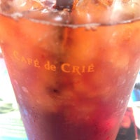 Photo taken at CAFÉ de CRIÉ by Satoshi M. on 7/2/2014